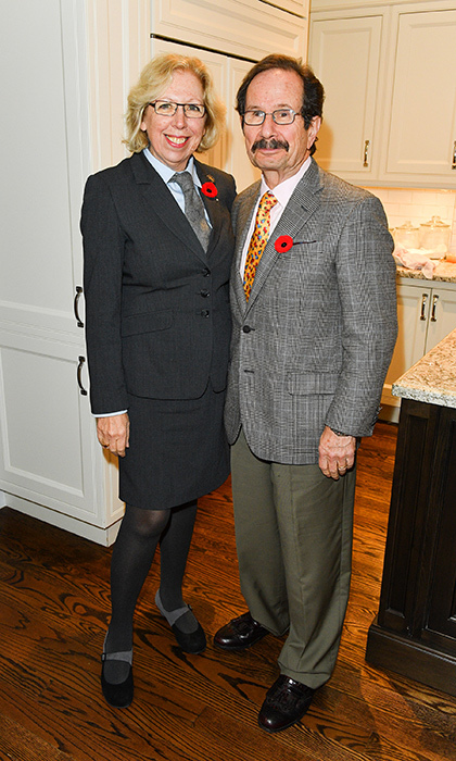 <h4> Prince's Charities Canada </h4><p>Amanda and John Sherrington</p><p>Photo: &copy; George Pimentel Photography</p>