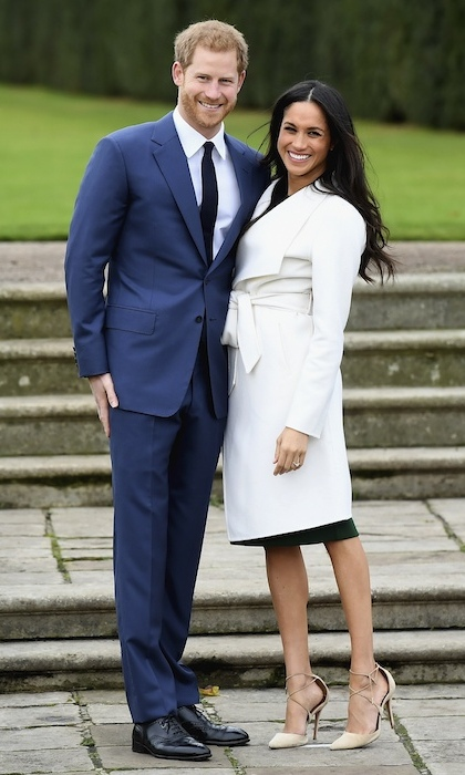 "<p>Prince Harry declared he was ""thrilled"" as he and bride-to-be Meghan made their first appearance in public since the happy announcement was made. When asked if it had been a romantic proposal, Meghan smiled knowingly at Harry, before replying: ""Very!"" while the Prince added: ""Of course!"" The royal also sweetly said that he had known Meghan was the One ""since the very first time we met.""