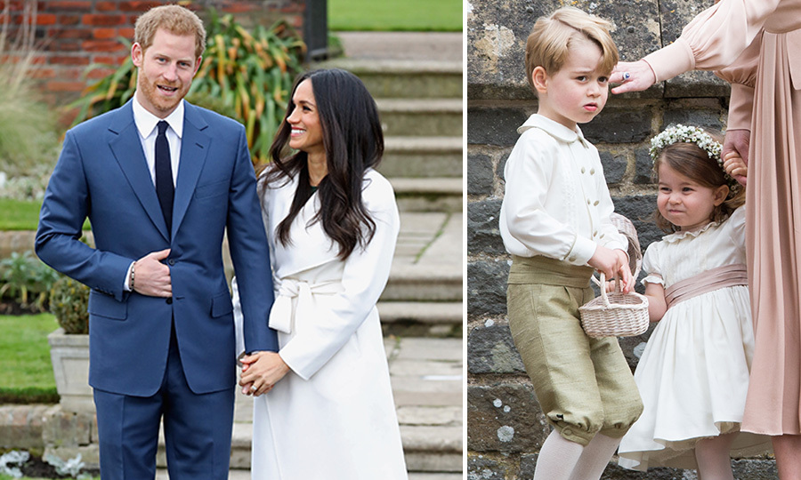 When Is Prince Harry S Wedding.Prince George And Princess Charlotte Are Likely To Steal The Show At