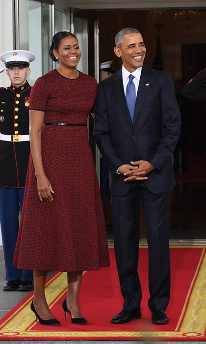 <h4>Barack and Michelle Obama</h4>