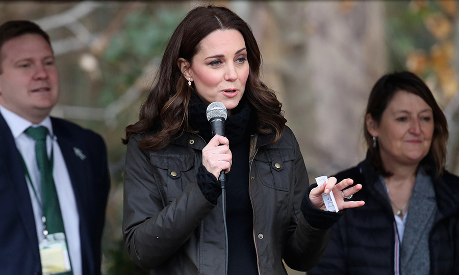 Kate visits Robin Hood Primary School in London to celebrate ten years of The Royal Horticultural Society Campaign for School Gardening.