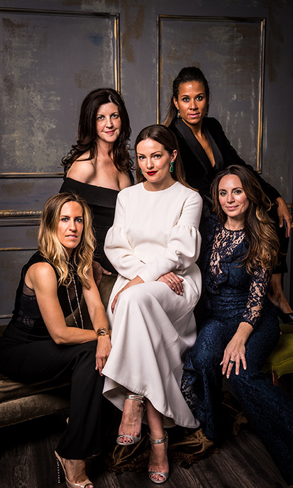 <p>Project Sunshine Canada: Annual Sunshine Ball</p><p>Vanessa Mulroney, Karin Eagan Dajani, Jane Hanrahan, Belise Deffett, Sarah Kaufman</p><p>Photo: &copy; George Pimentel Photography</p>