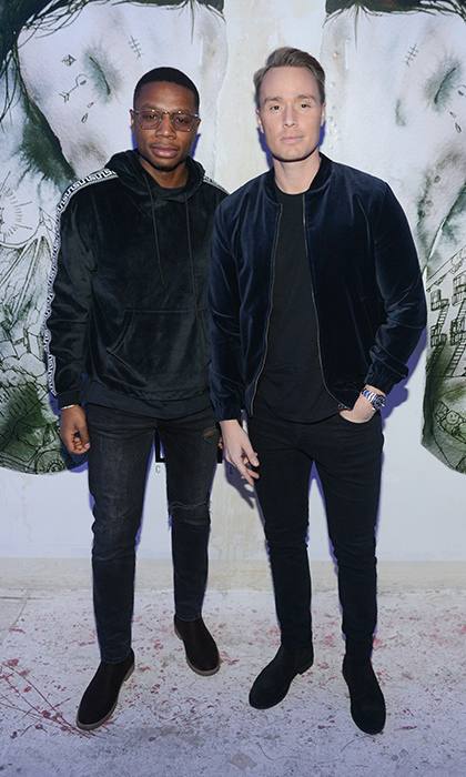 <p>Dim Mak at Saks Fifth Avenue</p><p>Devon Soltendieck and Ben Seh</p><p>Photo: &copy; George Pimentel Photography</p>