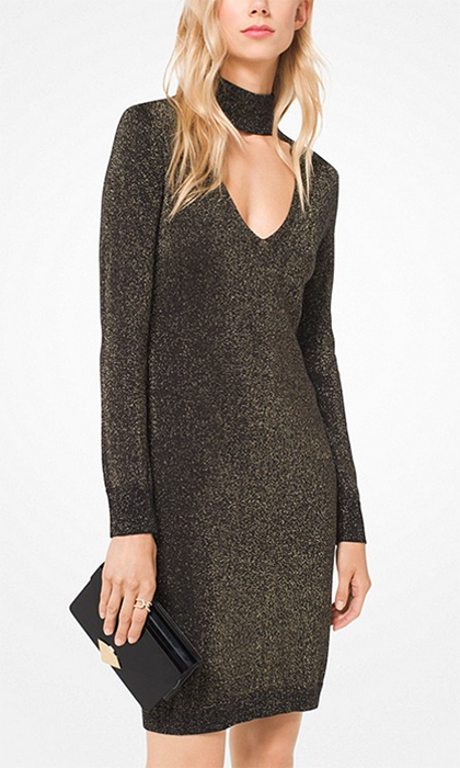 "<b>Metallic Cotton-Blend Cutout Dress</b>, $195, <a href=""https://www.michaelkors.ca/product/metallic-cotton-blend-cutout-dress/_/R-CA_MH78XL12A2?colorExplode=true&skuId=126286437&ecid=MKC_Google_CAEN&gclid=CjwKCAiA9f7QBRBpEiwApLGUiiYDI2THmC_SSHMhkCrOuApnY0p-Sc0-s3SZkqXhqzZYjsnlkqmFNRoCnMAQAvD_BwE&gclsrc=aw.ds"">michaelkors.ca</a>"