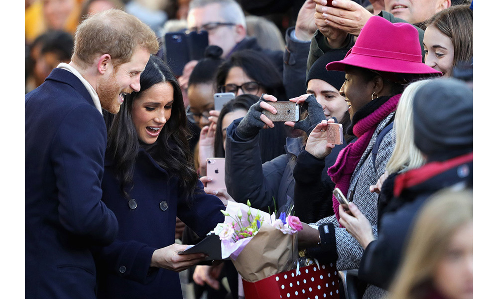 "The couple were clearly thrilled to be visiting Nottingham and sharing their engagement news with the nation. Harry's communication's secretary, Jason Knauf, said the Prince was looking forward to introducing Meghan to a community that had ""become very special to him"", adding that the actress ""could not wait"" to meet people she had heard so much about.