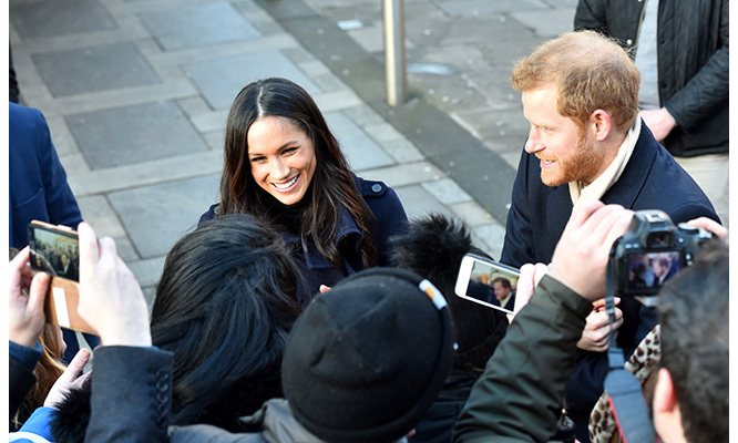 The former <em>Suits</em> actress, who has quit acting and will focus her energy and time on being a full-time royal, was a natural in front of the crowds and the cameras.