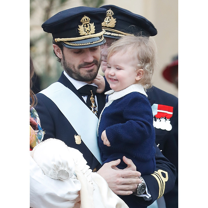 "Prince Carl Philip and Princess Sofia of Sweden's son Prince Gabriel was christened just a year after his big brother Prince Alexander. The two children are very close in age – which presents a challenge to their mom and dad. In an interview with Kupé magazine, Sofia said: ""Gabriel now sleeps and eats mostly, but we still have a couple of small glimpses that it's tougher with two than with one child. But there is also twice as much love.""