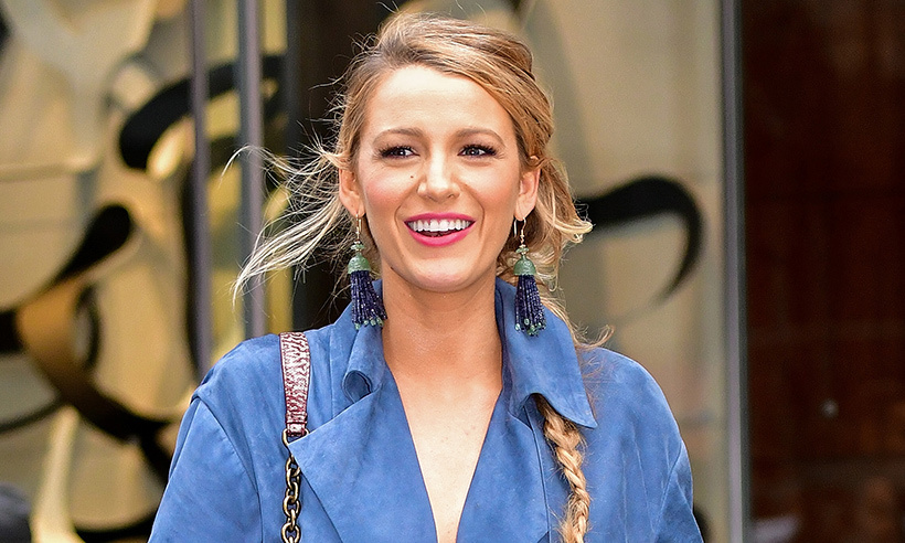 fde9258a346e Blake Lively undergoes a dramatic hair transformation for her new movie
