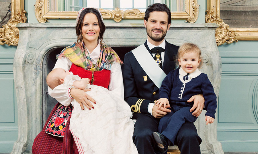 Sweden S Royal Court Releases Official Portraits From