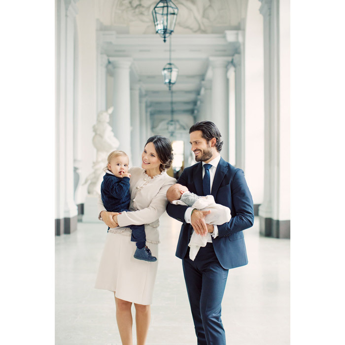 "<p>The Swedish royal family released this new family portrait of Alexander with his brother and parents Carl Philip and Sofia ahead of the Gabriel's christening in November 2017. In an interview after the arrival of their youngest son, the couple opened up about the ""chaos"" of raising two boys. ""We try to create as much family time as possible in the evenings, with bathing and knighting and getting on site routine,"" Sofia said in a new interview with Kupé magazine. ""But ask me again in a few months."" </p>