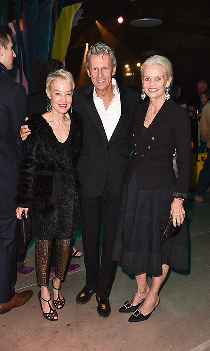 <p>Hermes Party</p><p>Christine Ralphs, David Bermann and Michelle Lloyd Bermann</p><p>Photo: &copy; George Pimentel Photography</p>