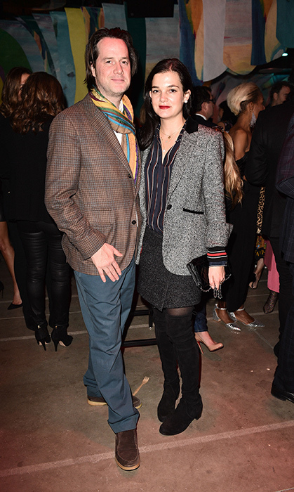 <p>Hermes Party</p><p>Scott McFarland and Cleophee Eaton</p><p>Photo: © George Pimentel Photography</p>