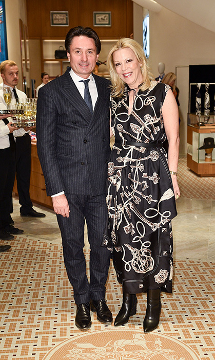 <p>Hermes Party</p><p>Axel Dumas and Jennifer Carter</p><p>Photo: &copy; George Pimentel Photography</p>
