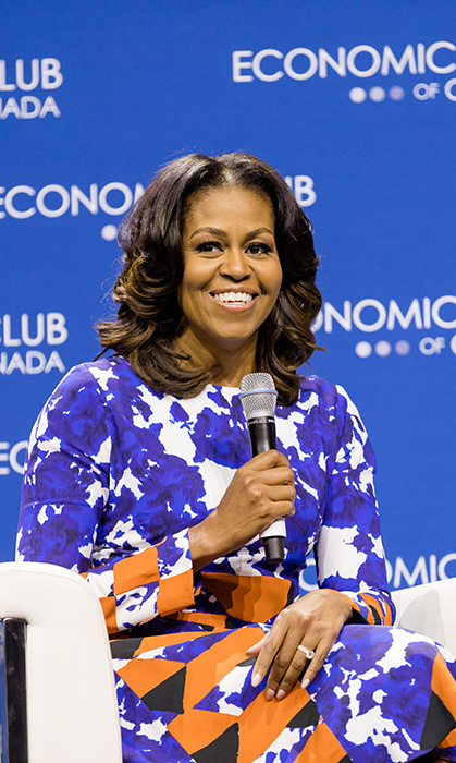 <p>Economic Club of Canada</p><p>Michelle Obama</p><p>Photo: &copy; Vito Amati / Ryan Emberley</p>