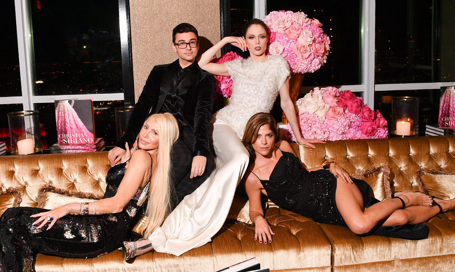<p>Christian Siriano Book Launch</p><p>Sylvia Mantella and Christian Siriano, Coco Rocha and Selma Blair</p><p>Photo: &copy; George Pimentel Photography</p>