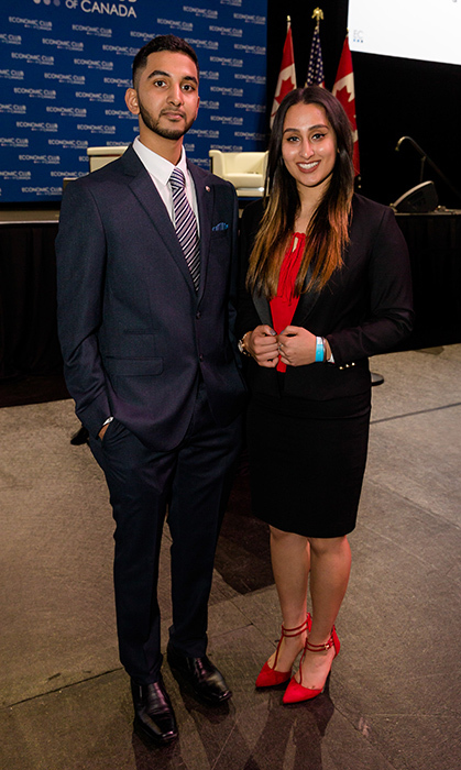 <p>Economic Club of Canada</p><p>Amir Siddique and Kanwarpreet Karwal</p><p>Photo: &copy; Vito Amati / Ryan Emberley</p>