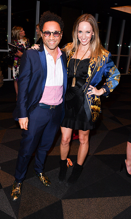 <p>Christian Siriano Book Launch</p><p>Shawn Hewson and Ruth Promislow</p><p>Photo: © George Pimentel Photography</p>
