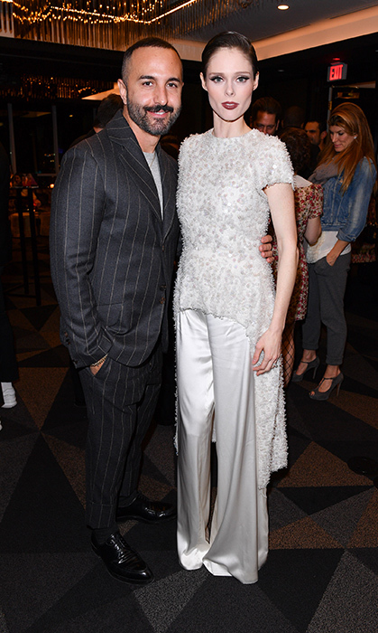 <p>Christian Siriano Book Launch</p><p>George Antonopoulos and Coco Rocha</p><p>Photo: &copy; George Pimentel Photography</p>