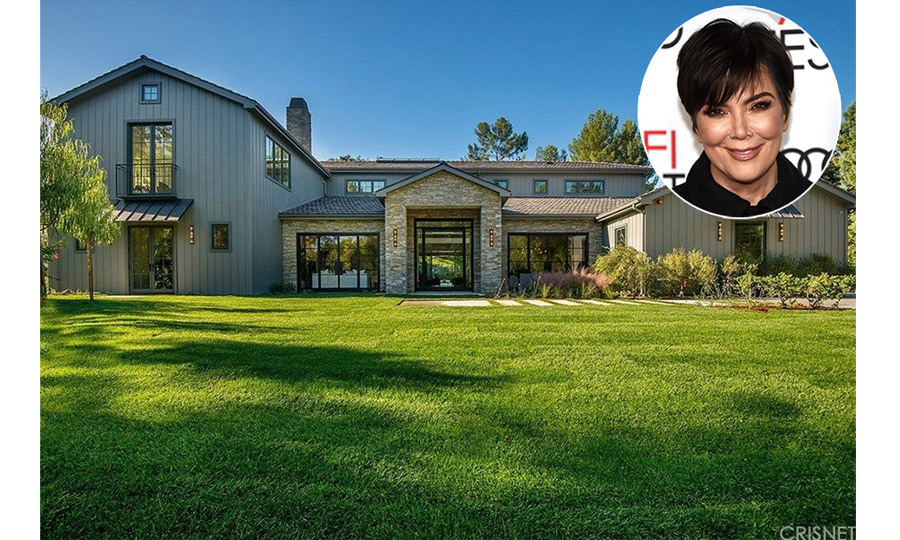 We're struggling to keep up with the Kardashians' property purchases! Kris Jenner has just spent $12.66 million on a six bedroom, seven bathroom home in the Hidden Hills area of Los Angeles. And she'll have some special neighbours to welcome her to the area – her daughter Kim Kardashian and son-in-law Kanye West, who live just across the road.