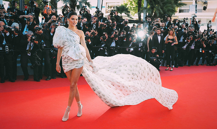 <h4>KENDALL JENNER IN CANNES</h4>