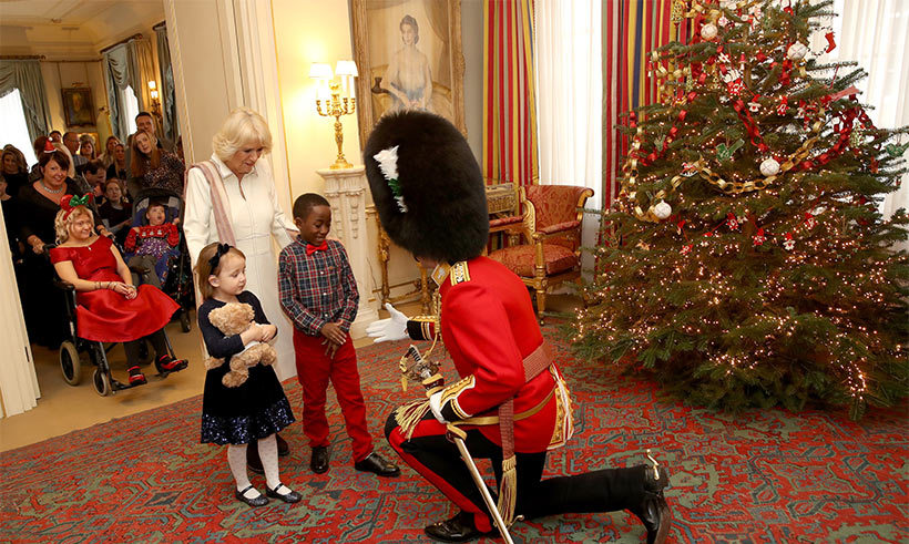 <p>The Clarence House Christmas tree was decorated on Wednesday.