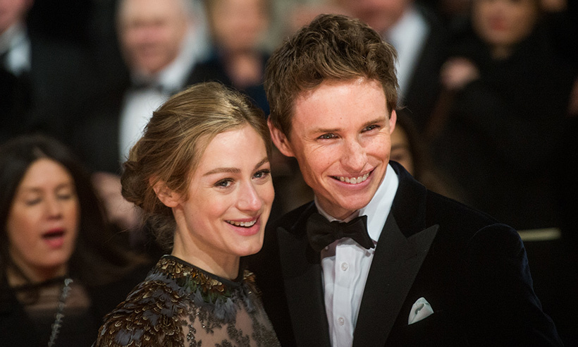 <h2>Eddie Redmayne and Hannah Bagshawe</h2>