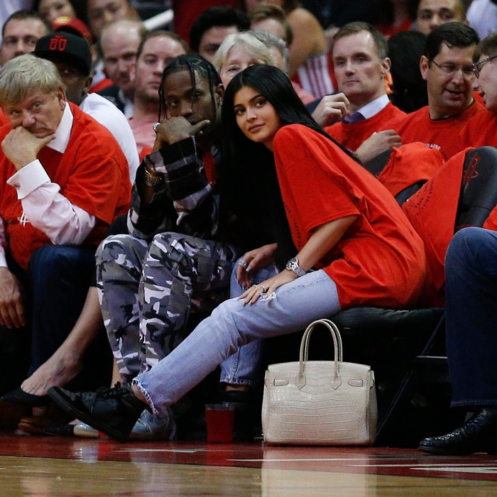 <h2>Kylie Jenner and Travis Scott</h2>