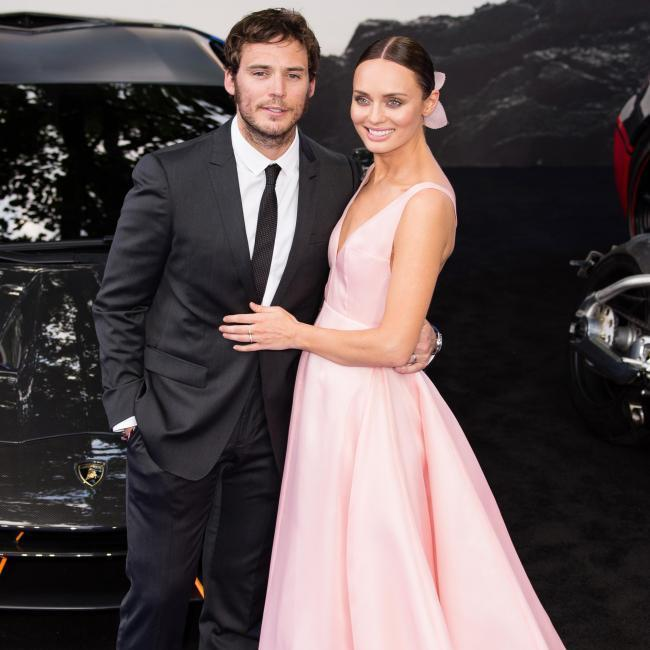 <h2>Sam Claflin and Laura Haddock</h2>
