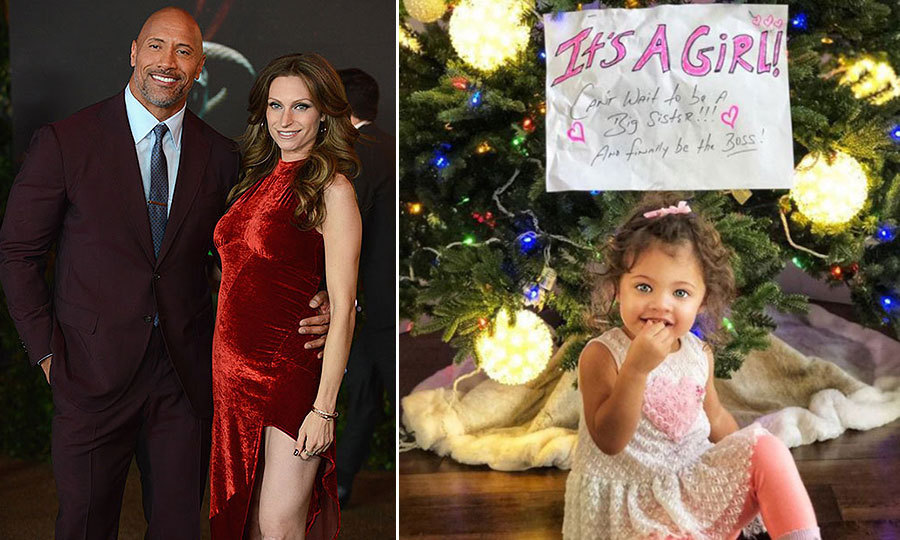 <h2>Dwayne 'The Rock' Johnson and Lauren Hashian</h2>