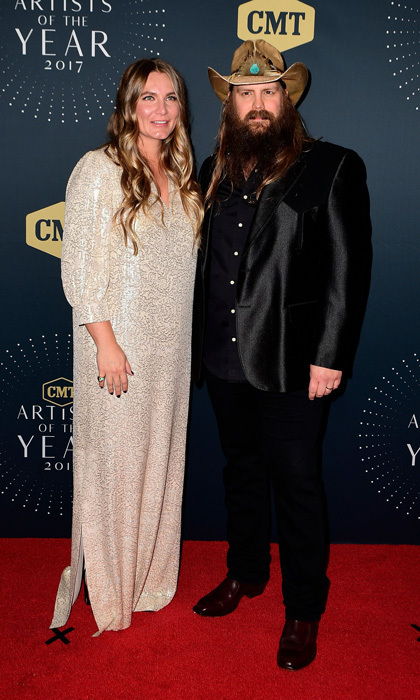 <h2>Chris Stapleton and Morgane</h2>