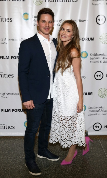 <h2>Matt Lanter and wife Angela</h2>