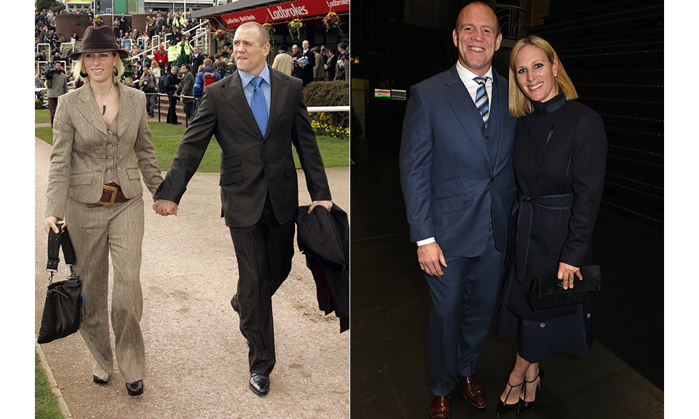 <h2>Mike and Zara Tindall</h2>
