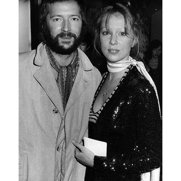 <h2>Eric Clapton and Pattie Boyd</h2>