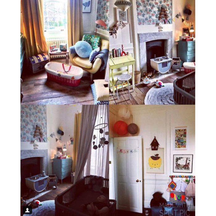 "<p>Jools said baby River Rocket's nursery is her ""absolute favourite"" room in the house. The lucky toddler's room has been filled with toys and colourful furniture, with patterned wallpaper and framed prints lining the walls.</p>