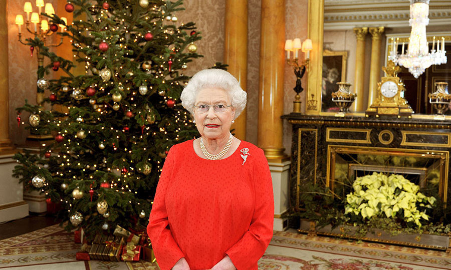 <p>The 1844 room (so-called because it was decorated that year for the State visit of Emperor Nicholas I of Russia) provided the perfect backdrop for the Queen's 2011 Christmas message. The Queen stood in front of a traditional marble fireplace for the broadcast, with a dazzling chandelier and framed portraits visible in the reflection of the mirror.</p>