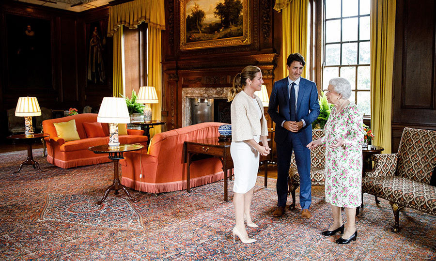 "<h4>A ROYAL REUNION </h4><p>Justin Trudeau shared a moment with the Queen at her official residence in Scotland – decades after first meeting Her Majesty as a little boy when his father, Pierre Elliott Trudeau, was prime minister of Canada. Of this encounter, Justin said he and the 91-year-old monarch had a ""warm and engaged conversation."" </p>