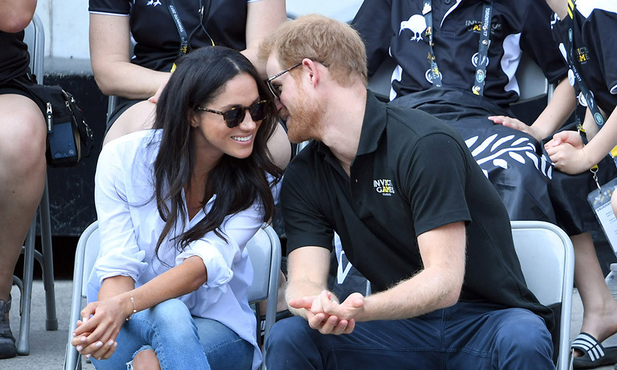 <h4>A ROYAL LOVE STORY REVEALED</h4><p>A few weeks after actress Meghan Markle admitted to Vanity Fair that she and Prince Harry were in love, the two made their first very public appearance at an Invictus Games wheelchair tennis match in Toronto. Their body language showed the world that they were indeed an item!</p><p>Photo: &copy; Getty Images</p>