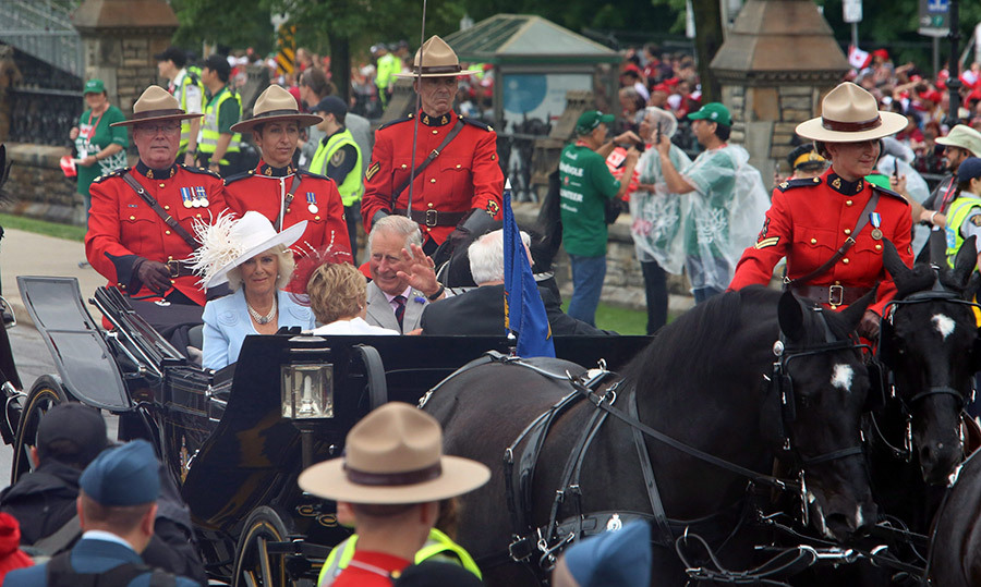 "<h4>A WELCOME RETURN TO CANADA</h4><p>On their fourth Canadian tour as a couple, the Prince of Wales and Duchess of Cornwall arrived at Parliament Hill for Canada's 150th celebrations on July 1. ""I began my first visit to this great country almost 50 years ago. I've never forgotten the warmth of the welcome,"" said Charles. </p><p>Photo: &copy; Getty Images</p>"