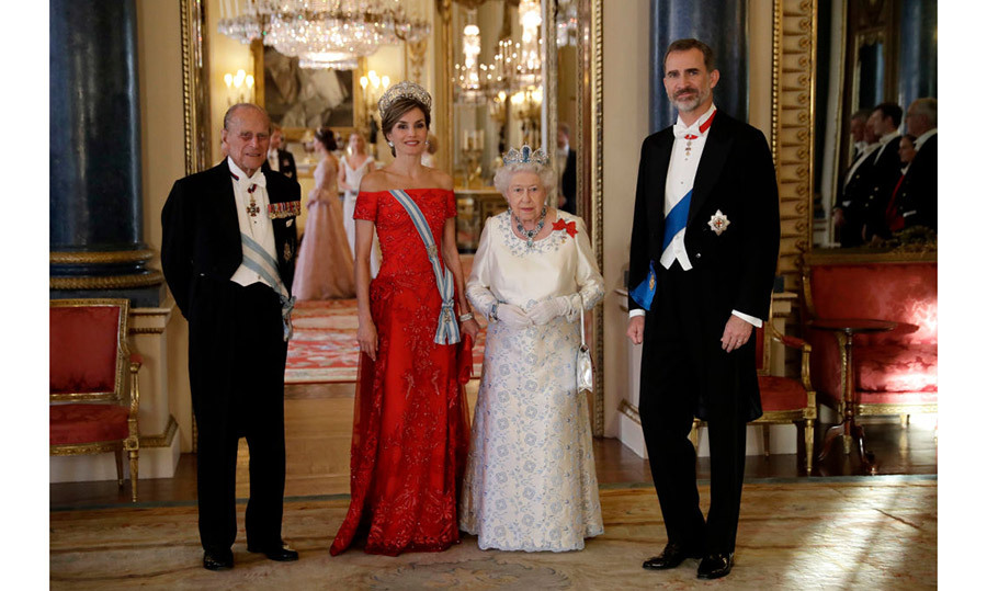 <h4>POMP AND PAGEANTRY</h4><p>King Felipe VI and his wife, Queen Letizia, received a full ceremonial welcome when they arrived in London for a state visit, including a sumptuous state banquet at Buckingham Palace in their honour. Their visit marked the first by a Spanish monarch in more than 30 years! </p>
