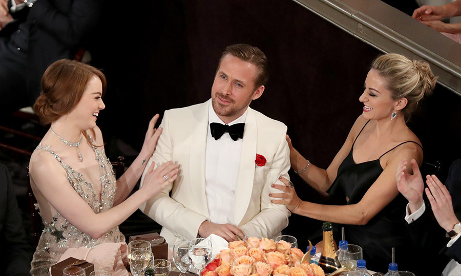 "<h4>CROWNING GLORY</h4><p>Dressed in their finest, stars gathered to celebrate their peers at the 74th Golden Globe Awards. It was an especially exciting night for La La Land co-stars Emma Stone and Ryan Gosling, who took home acting prizes, as did Claire Foy for playing the Queen in The Crown. ""I'm having an out-of-body experience!"" the actress told the audience. </p>