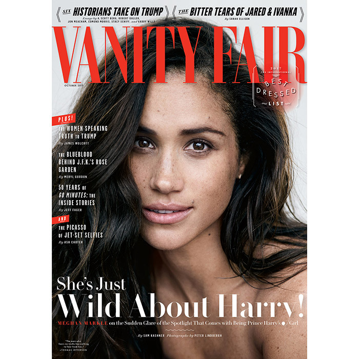 "<h4>IN LOVE </h4><p>In her first interview about her future fiancé, Meghan Markle, 36, says of her relationship with Prince Harry: ""We're two people who are really happy and in love"" and revealed she's a romantic at heart. ""I love a great love story."" </p><p>Photo: &copy; Getty Images</p>"