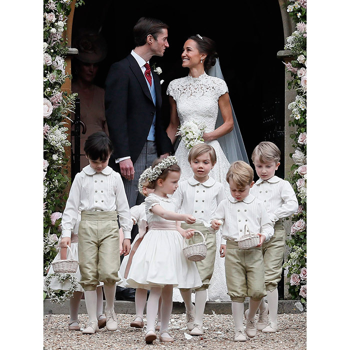 "<h4>WEDDING OF THE YEAR</h4><p>Looking radiant in an exquisite lace gown by British designer Giles Deacon, the Duchess of Cambridge's little sister Pippa Middleton took centre stage as she said ""I do"" to her prince charming, financier James Matthews. The couple's lavish country wedding took place at St. Mark's church in Englefield and featured William and Kate's children George and Charlotte as pageboy and bridesmaid.  </p>
