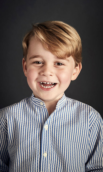 "<h4>HAPPY BIRTHDAY, George! </h4><p>The palace released this oh-so-cute photo of a grinning, gap-toothed Prince George as he turned four. ""He is such a happy boy,"" said photographer Chris Jackson. </p><p>Photo: &copy; Getty Images</p>"