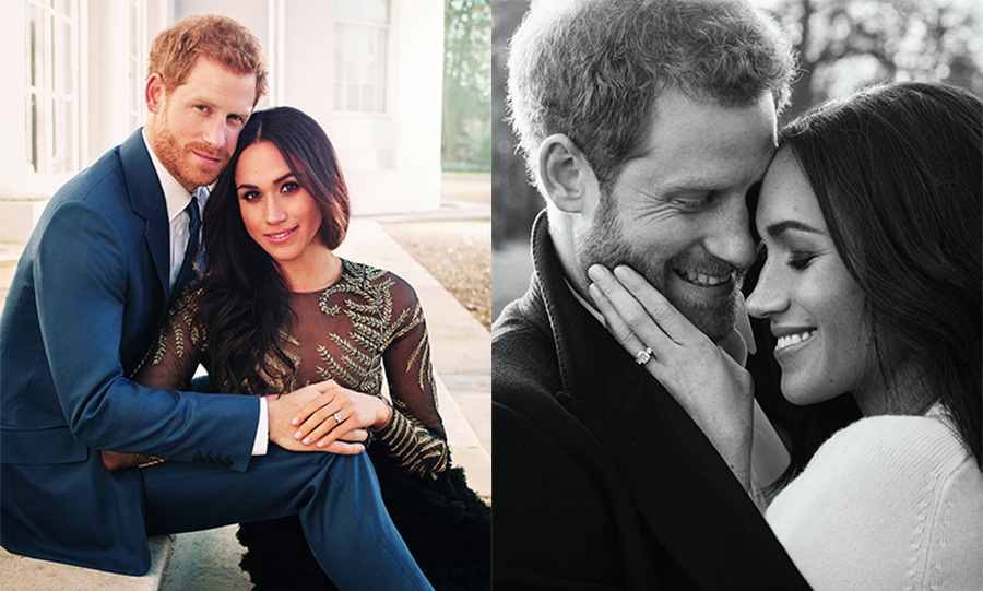 prince harry and meghan markle look madly in love in engagement portraits hello canada prince harry and meghan markle look
