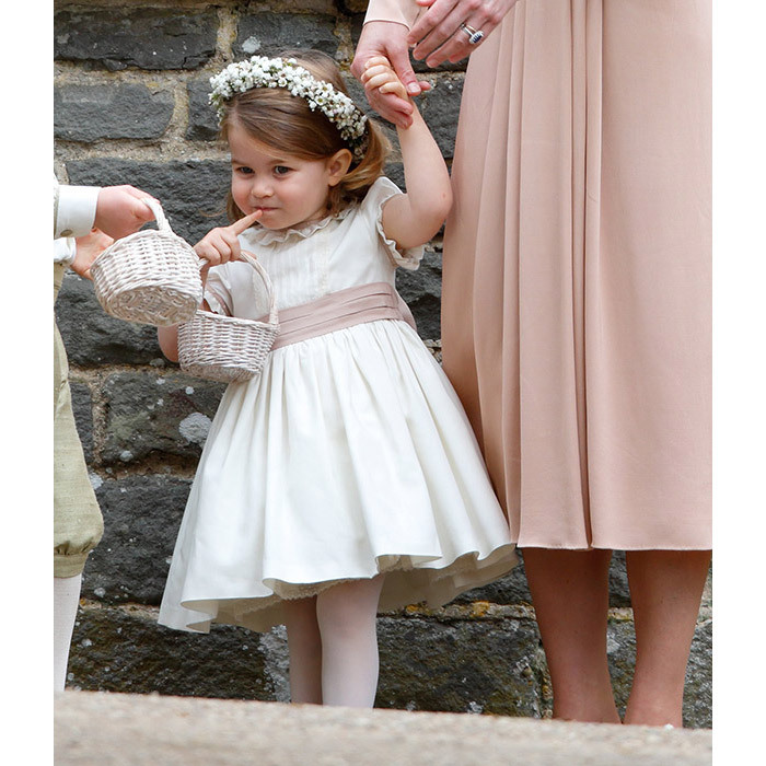 <p>Princess Charlotte was a real cutie as a flower girl at the wedding of Pippa Middleton and James Matthews.</p>