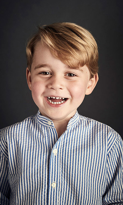<p>Prince George was a very handsome birthday boy in July, when his parents released this official portrait to celebrate him turning four.</p>
