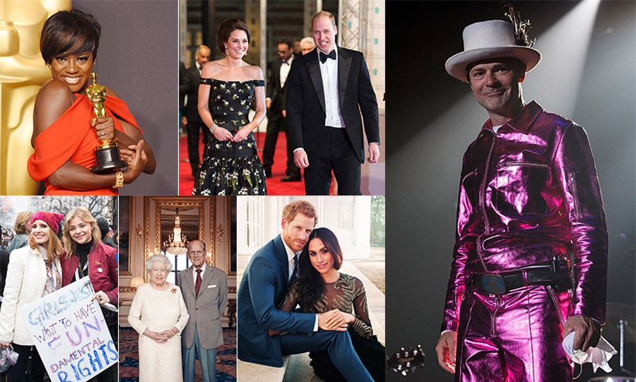 From red-carpet stars to our readers' favourite royals, we celebrate the famous faces who made this a year to remember!