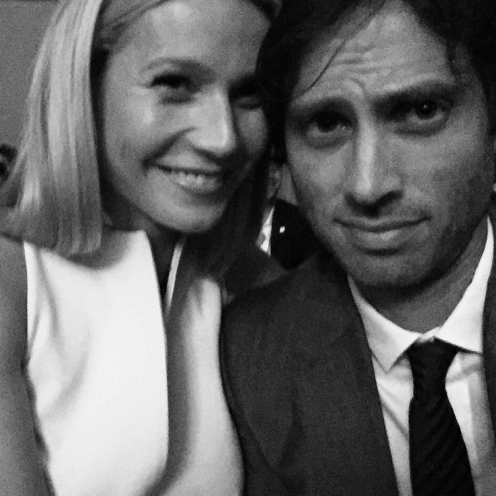 <h3>Gwyneth Paltrow and Brad Falchuk</h3>