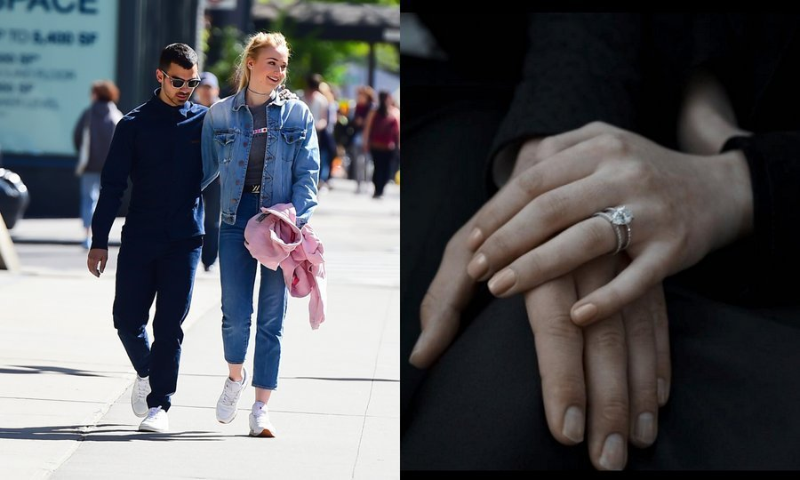 <h3>Joe Jonas and Sophie Turner</h3>