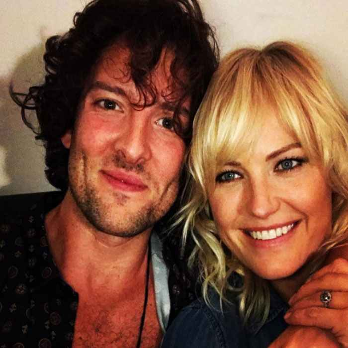 <h3>Malin Akerman and Jack Donnelly</h3>